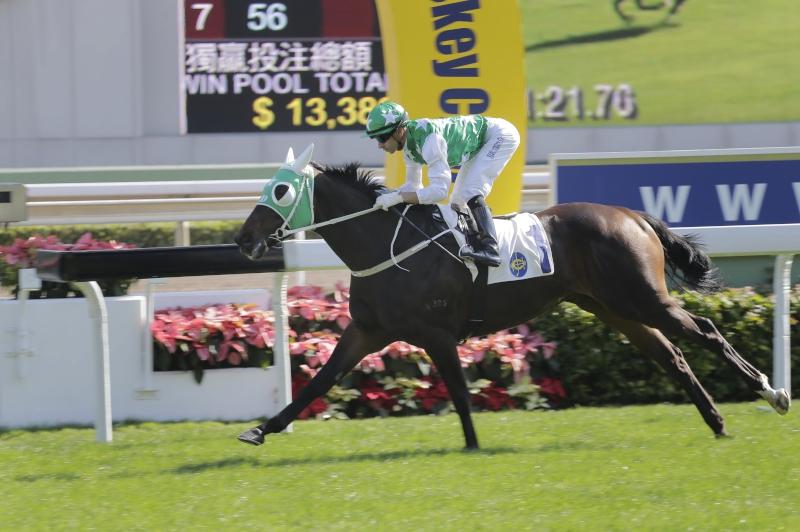 「巴基之星」今季較早時在莫雷拉胯下以輕鬆姿態勝出新馬錦標。