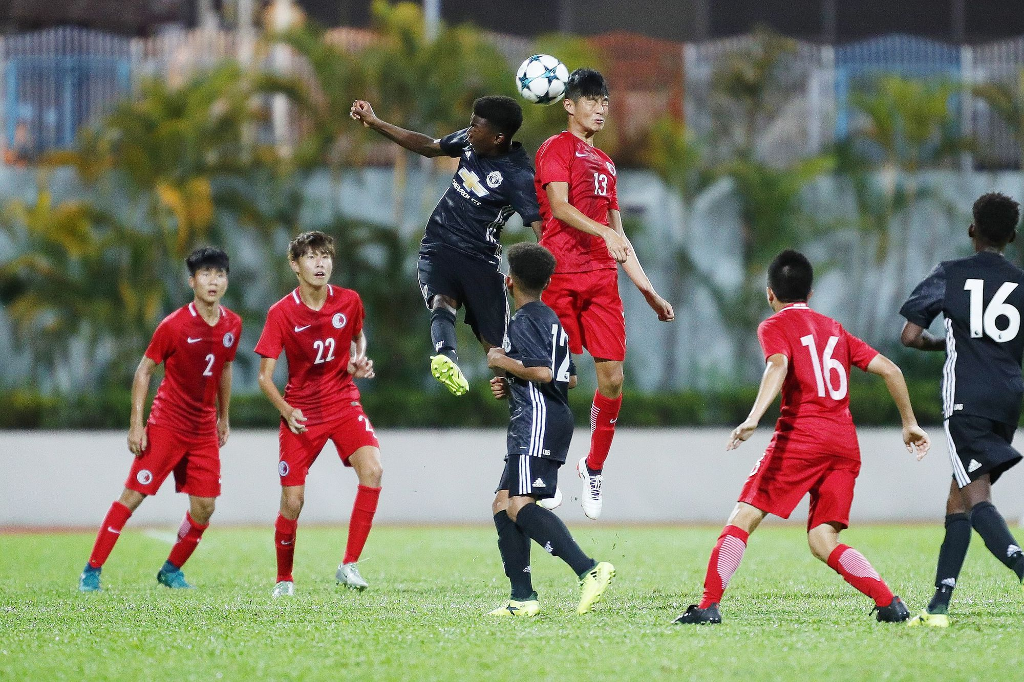 Manchester United Academy U16 Squad Round Off Fruitful Visit To Hong Kong Corporate News About Hkjc The Hong Kong Jockey Club