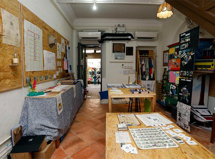 推動文化保育 支持「藍屋創作室」社區展覽