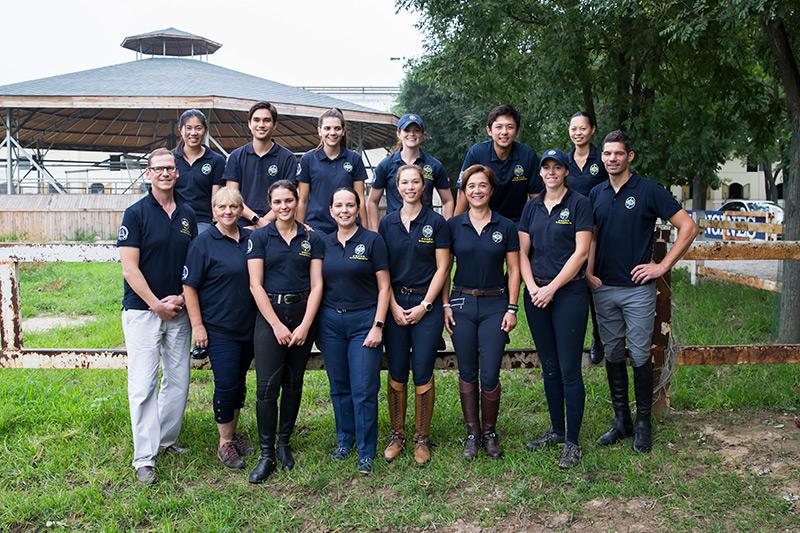 香港在今屆全運會派出歷來最大的馬術隊,並由馬會提供11名馬會獸醫、釘甲匠及其他專業人員等隨團支援。馬術隊在全運會合共取得一銀一銅佳績。