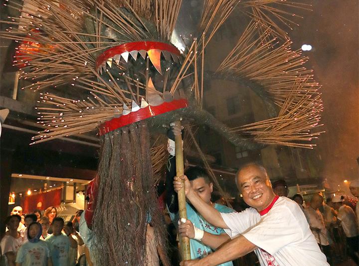 支持大坑火龍盛會  傳承138年傳統文化