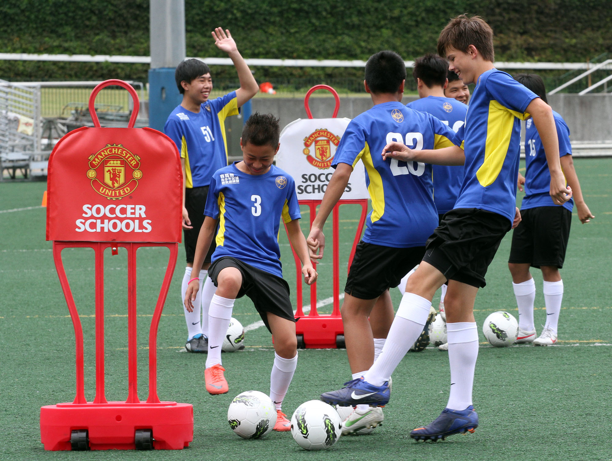 Club funds Hong Kong's young football elite to train the